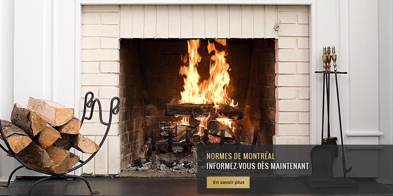 Norme des foyers et poêle à Montréal et aux alentours – Contactez la Boutique du Foyer pour connaître tous les détails des normes pour les foyers